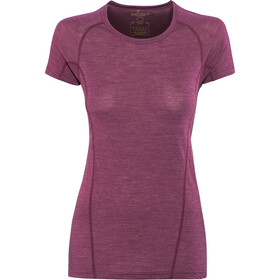 Devold Running T-shirt Dam plum